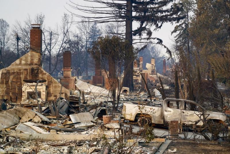 Santa Rosa'daki büyük yangın sonrasında DroneDeploy devereye girdi!